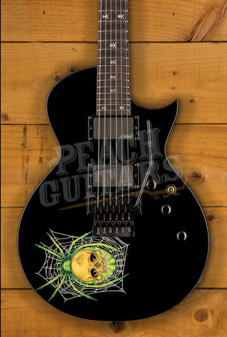 LTD KH-3 SPIDER KIRK HAMMETT SIGNATURE including case