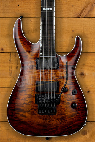 ESP E-II HORIZON FR-II TESB Tiger Eye Sunburst