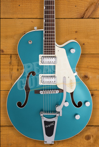 "Gretsch G5410T Electromatic Hollowbody ""Tri-Five"" 2-Tone Ocean Turquoise"