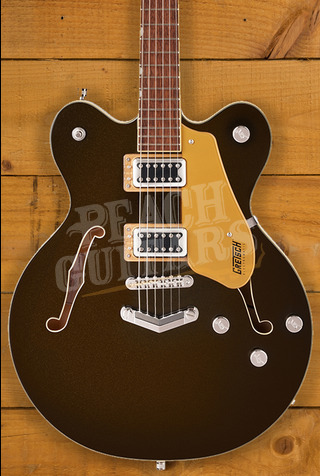 Gretsch G5622 Electromatic Center Block Double-Cut with V-Stoptail, Laurel Fingerboard, Black Gold