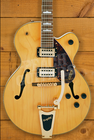 Gretsch G2410TG Streamliner Hollow Body Single-Cut with Bigsby Village Amber