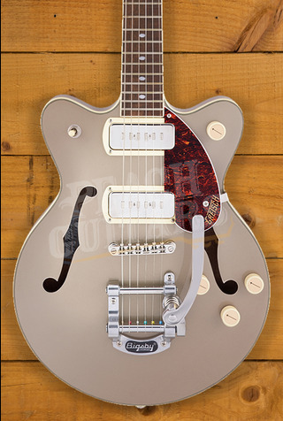 Gretsch G2655T-P90 Streamliner Center Block Jr. Double-Cut P90 2-Tone Sahara Metallic