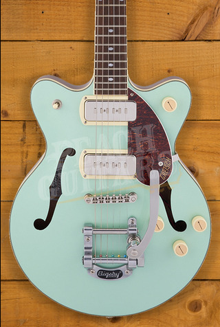 Gretsch G2655T-P90 Streamliner Center Block Jr. Double-Cut P90 2-Tone Mint Metallic