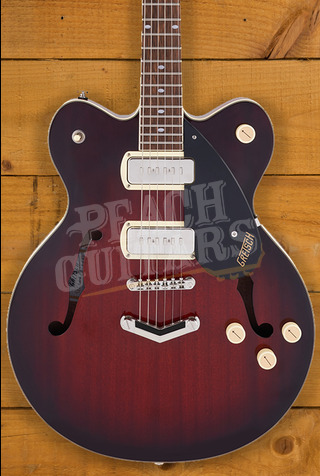 Gretsch G2622-P90 Streamliner Center Block Double-Cut P90 Claret Burst