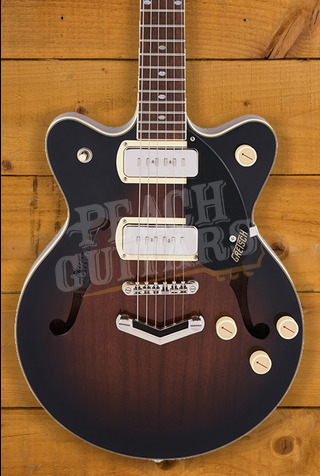 Gretsch G2655-P90 Streamliner Center Block Jr. Double-Cut P90 Brownstone