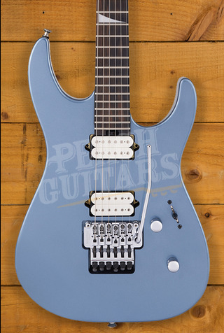 Jackson MJ Series Dinky DKR, Ebony Fingerboard, Ice Blue Metallic