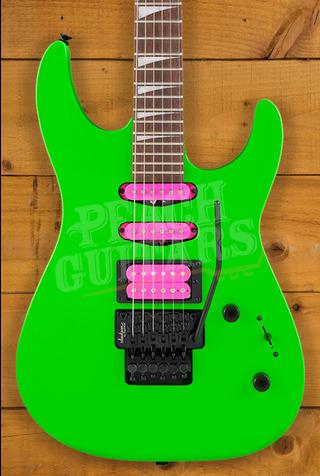 Jackson X Series Dinky DK3XR HSS, Laurel Fingerboard, Neon Green
