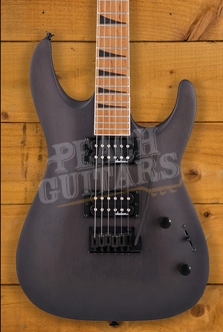 Jackson JS Series Dinky Arch Top JS24 DKAM, Caramelized Maple Fingerboard, Black Stain
