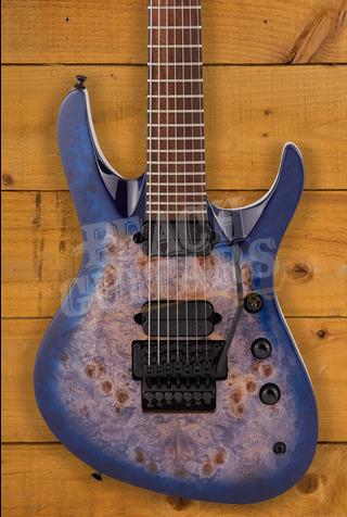 Jackson Pro Series Chris Broderick Signature FR7 Soloist Transparent Blue