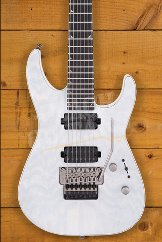 Jackson Pro Series Soloist SL7A MAH, Ebony Fingerboard, Unicorn White