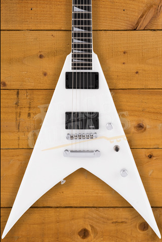 Jackson Pro Series King V KVTMG, Ebony Fingerboard, Snow White