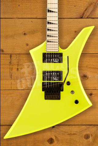 Jackson X Series Kelly KEXM, Maple Fingerboard, Neon Yellow