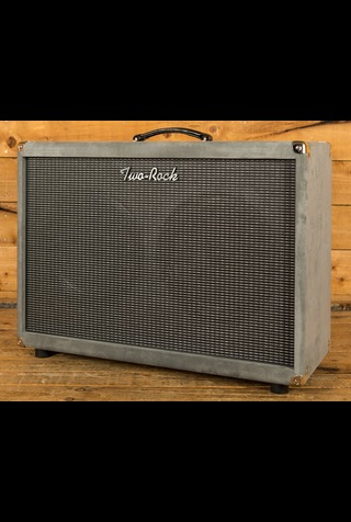 Two-Rock 2x12 Horizontal Cab - Grey Suede (Silver Sterling Signature)