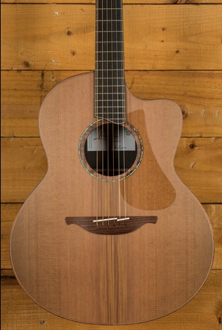Lowden F50c African Blackwood & Red Cedar
