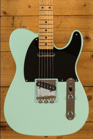 Fender Vintera 50s Tele Mod Maple Neck Surf Green