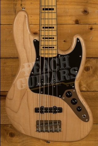 Squier Classic Vibe 70s Jazz Bass V Maple Neck Natural
