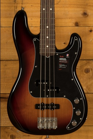 American Performer Precision Bass Rosewood Fingerboard 3TSB