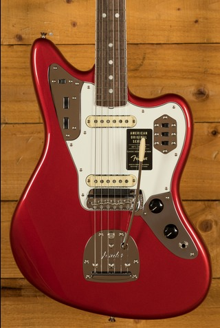 Fender American Original '60s Jaguar - Rosewood Board, Candy Apple Red