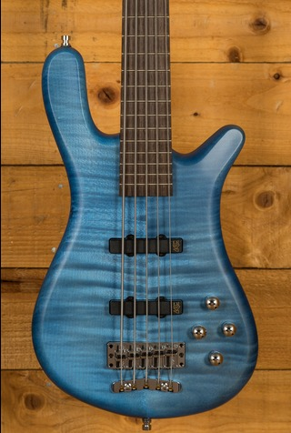 Warwick GPS Streamer LX 5-String - Maple Ocean Blue
