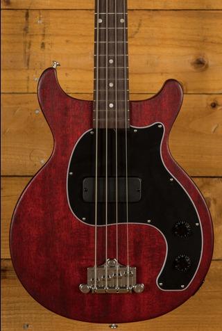 Gibson Les Paul Junior Tribute DC Bass - Worn Cherry