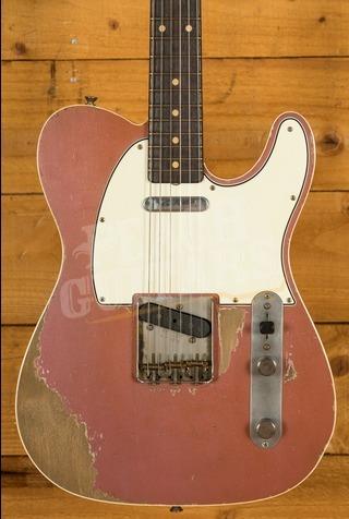 Fender Custom Shop '60 Tele Custom Dale Wilson Masterbuilt Burgundy Mist Used