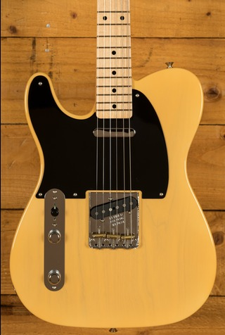 Fender Custom Shop 52 Telecaster NOS Nocaster Blonde - Left Handed