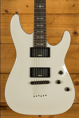 Schecter Demon-6 Vintage White