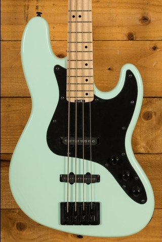 Schecter Bass - J-4 Maple FB Sea Foam Green