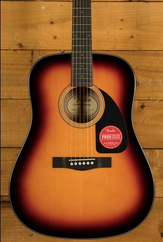 Fender CD-60 V3 Dreadnought - Sunburst