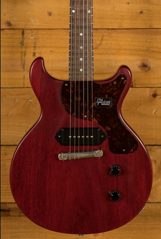 Gibson 1958 Les Paul Junior Double Cut Reissue VOS Cherry Red