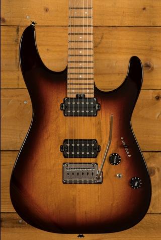 Charvel Pro-Mod DK24 HH 2PT CM Caramelized Maple 3-Tone Sunburst