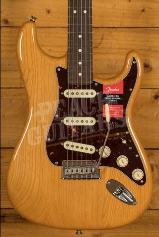 Fender LE American Pro Light Ash Strat Rosewood Aged Natural
