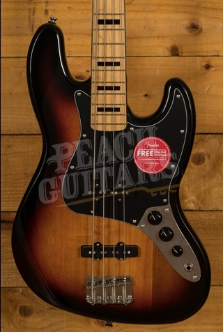 Squier Classic Vibe 70s Jazz Bass Maple Neck 3TSB