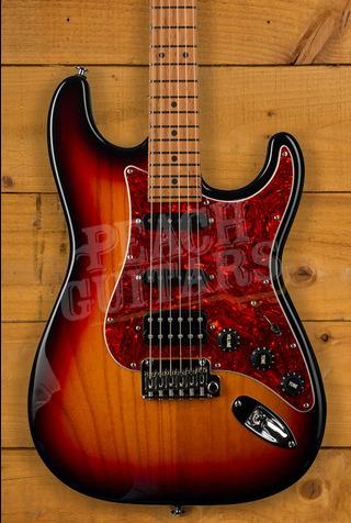 Suhr Limited Edition Classic S Paulownia 3-Tone Burst HSS