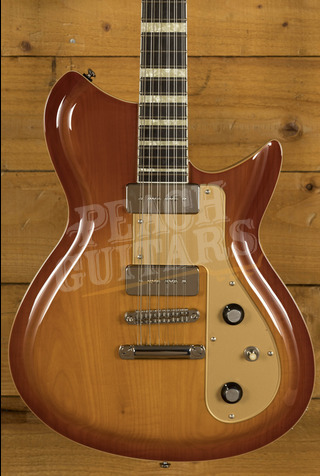 Rivolta Combinata 12 String Autunno Burst