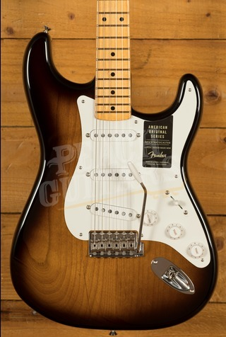 Fender American Original '50s Strat - Maple Board, 2-Colour Sunburst