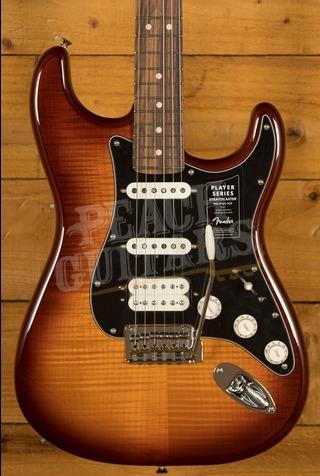Fender Player Series Strat HSS Plus Top Pau Ferro Tobacco Sunburst