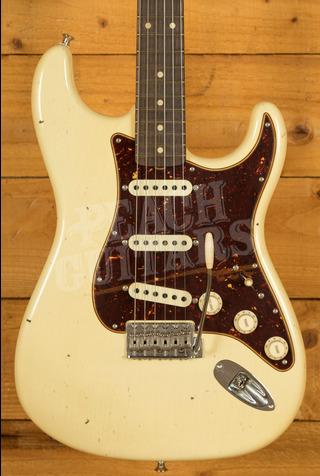 Fender Custom Shop Postmodern Strat Journeyman/CC Hardware Aged Vintage White