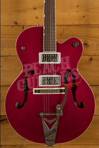 Gretsch G6120T Brian Setzer Hot Rod Candy Magenta Sparkle
