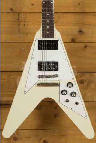 Gibson 70s Flying V Classic White