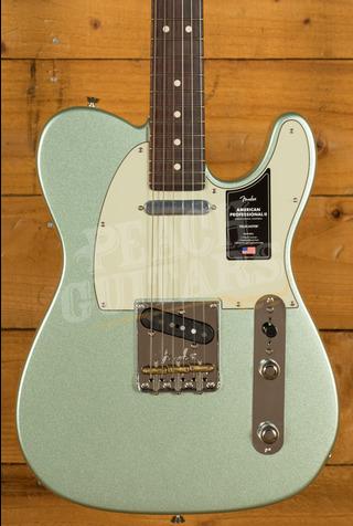 Fender American Professional II Telecaster Mystic Surf Green Rosewood