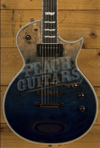 ESP E-II ECLIPSE BM Blue Natural Fade