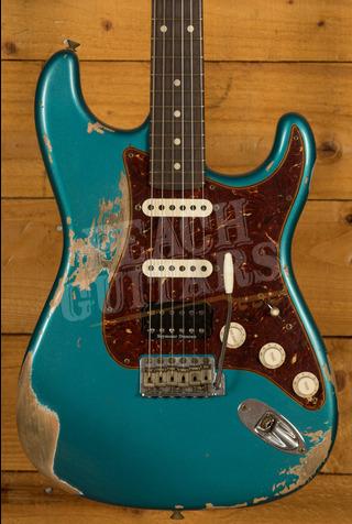 Fender Custom Shop '59 Strat HSS Heavy Relic Ocean Turquoise