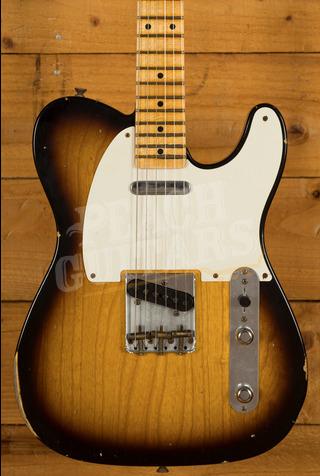 Fender Custom Shop '52 Tele Relic 2 Tone Sunburst