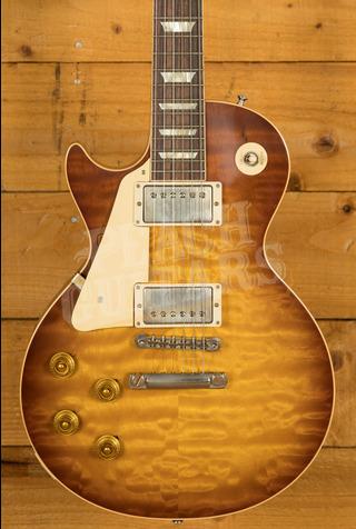Gibson Custom HP Top '58 Les Paul Standard Iced Tea VOS NH Left Handed