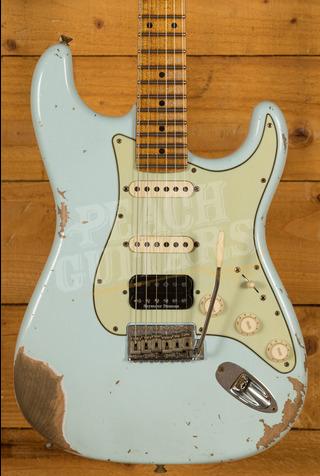 Fender Custom Shop '58 Strat HSS Heavy Relic Sonic Blue