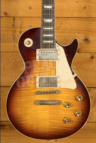 Gibson Custom HP Top 60th Ann 1960 Les Paul Standard V2 Neck Washed Bourbon Burst VOS NH