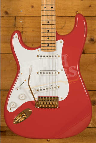 Fender Custom Shop '57 Strat NOS Birds Eye Maple Neck Fiesta Red Left Handed