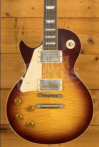 Gibson Custom HP Top '58 Les Paul Standard Bourbon Burst VOS NH Left Handed