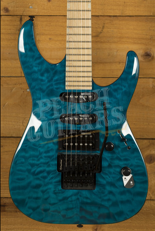 ESP LTD MH-203 QM See Thru Blue